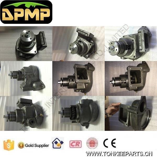 6261-61-1201 D155A-6R D275A-5 SAA6D140E-5 water pump 6D140 water pump small hole   P01.jpg