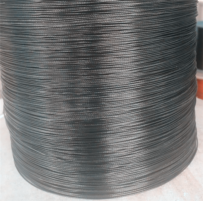 Electric galvanized steel wire rope with  any color PVC(PE) coating