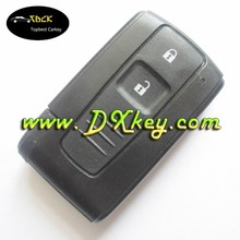 Competitive price plastic key cover 2 buttons for toyota key cover toyota prius smart key
