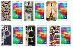 IMD Craft Stylish Pattern Protective Hard PC Case for Samsung Galaxy S5 i9600 (US Dollar)