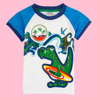 (C4912) 2-6Y nova Popular!Newest fashion boys tshirts, tshirts, kids cool printed tee