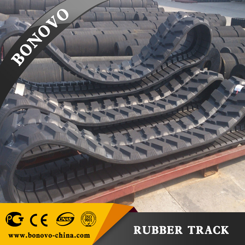 Rubber Track PC58 400x72.5x72 for Excavator / rubber crawler at a good price