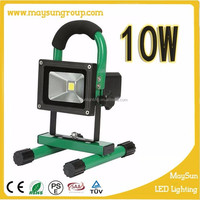 10w-20w led rechargeable flood light/ Portable LED Battery Work Light with CE ROHS