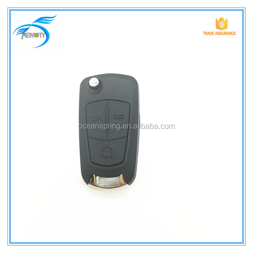 Car Flip Key Shell Replacement German Opel Remote Key Case