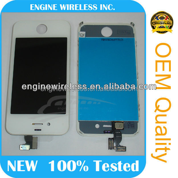 for iphone 4 lcd full set conversion kit,alibaba oem,best quality