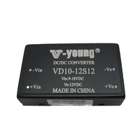 9-18V to 12V 0.84A single output 10W isolated dc/dc converters