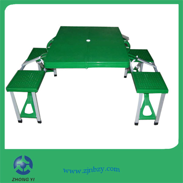 Portable Folding Plastic Dining Table for USA market