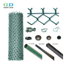 Professional Galvanized or Powder caoted Chain Link fence manufacturer