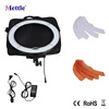 photographic dimmable LED ring light for studio/video