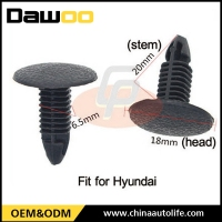 Popular cheap plastic trim clips for cars