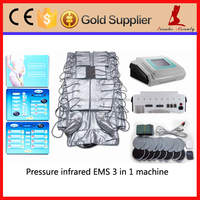 Far infrared heat therapy+ems therapy+lymphatic drainage vacuum therapy machine