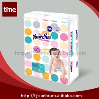 Factory thinner baby diaper sleepy from Quanzhou China