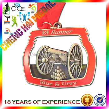 Custom cheap medals personalized 3D antique medals