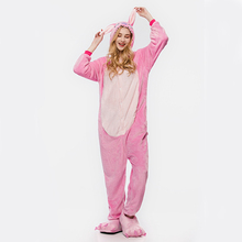 Winter keep warm personalized winter adult animal jumpsuit pajamas design onesie without hood for wholesale