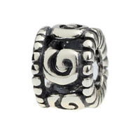 Wholesale Breeze Design Spacer Bead 925 Sterling Silver Charm Jewelry for European Bracelet