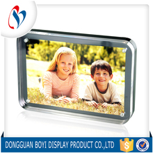 Transparent Clear Acrylic Crystal Plexiglass photo frame