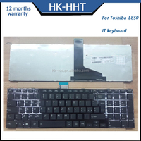 IT Italy notebook keyboards laptop keyboard for Toshiba L850 keyboard