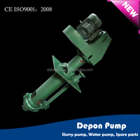 Vertical Sump Pump with rubber impeller