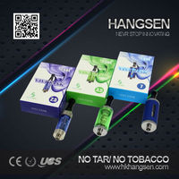Colorful replaceable mini vivi nova tank clearomizer 2.0ml mini vivi nova tank from hangsen