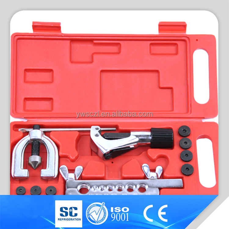 Best quality 7 holes Refrigerant Double Flaring Tool kit for sale