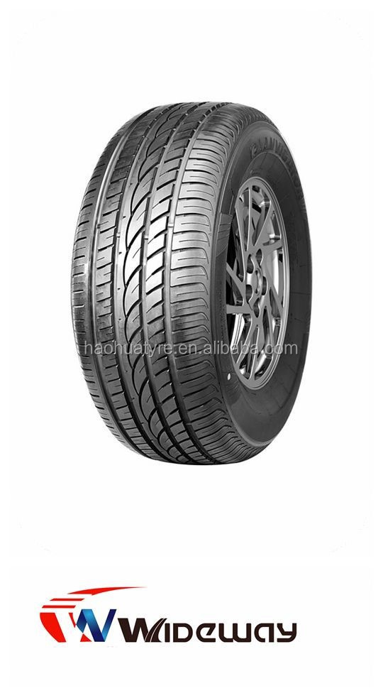 High quality car tyre natural rubber tubeless, high performance tyres with warranty promise 3