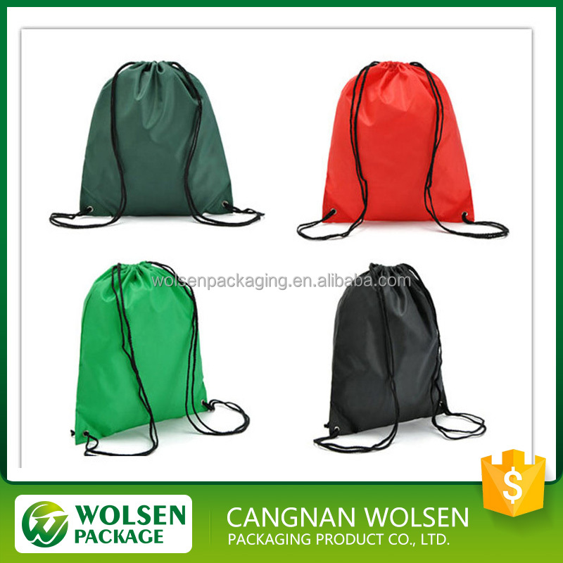 2016 China manufacturer hot sale new style drawstring sports bag