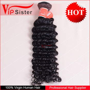 wholesale price double weft grade 8a natural color 100 percent virgin indain deep curly