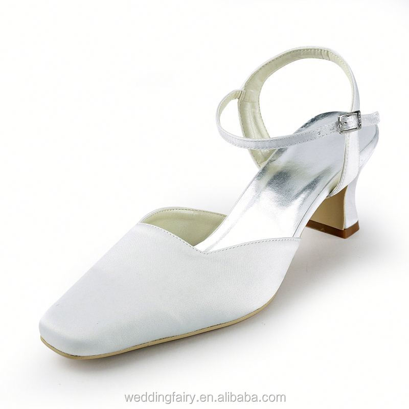 Latest Wholesale OEM Quality flat bridal crystals shoes wedding shoes from manufacturer