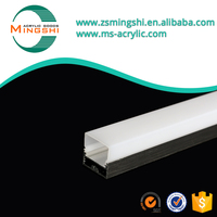 Polycarbonate extrusion profiles for LED lighting