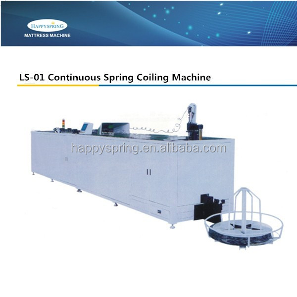 LS-01 For Mattress Continuous Spring Coiling Machine