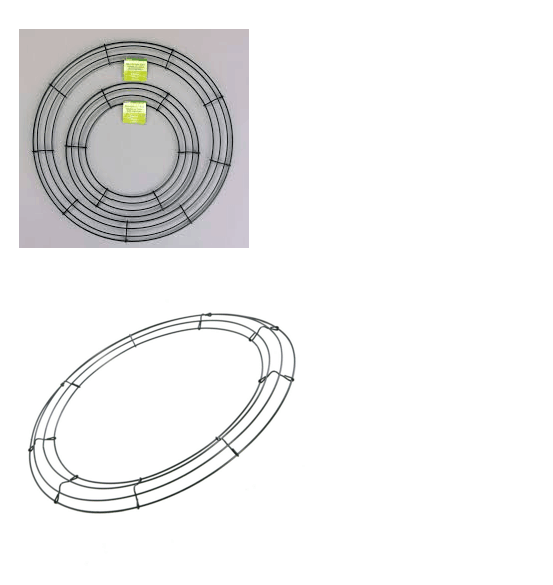 wire wreath forms(factory)