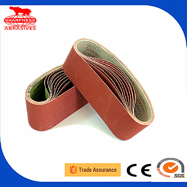 533*75mm 915*100mm 330x10mm 610*100mm aluminum abrasive belt roll sanding belt for sander wood metal