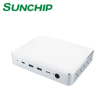 Battery Powered Desktop Computer N3450 MINI PC with 4GB RAM Intel N3450 HDMI VGA Win10 MINI PC from SUNCHIP CX-W11