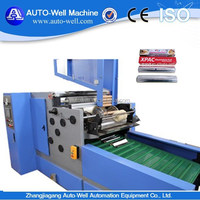 Chocolate Packaging Foil Wraps Roll Rewinding Machine