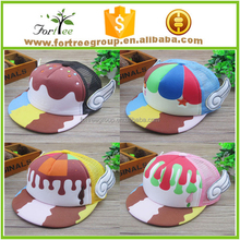 child cap cute angel wings sports cap for children