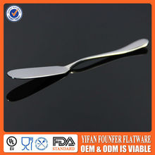 Hot selling 2017 cheap butter knife stainless steel butter knives