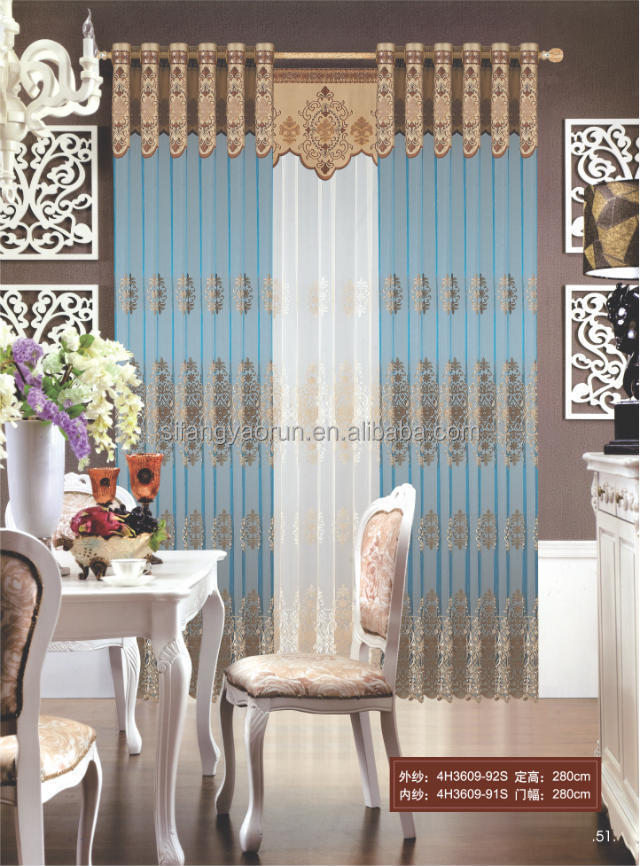 Custom window drapes good quality curtain motorized curtain