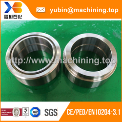 SGS supplier customized cnc turning/milling ring fitting with competitive price
