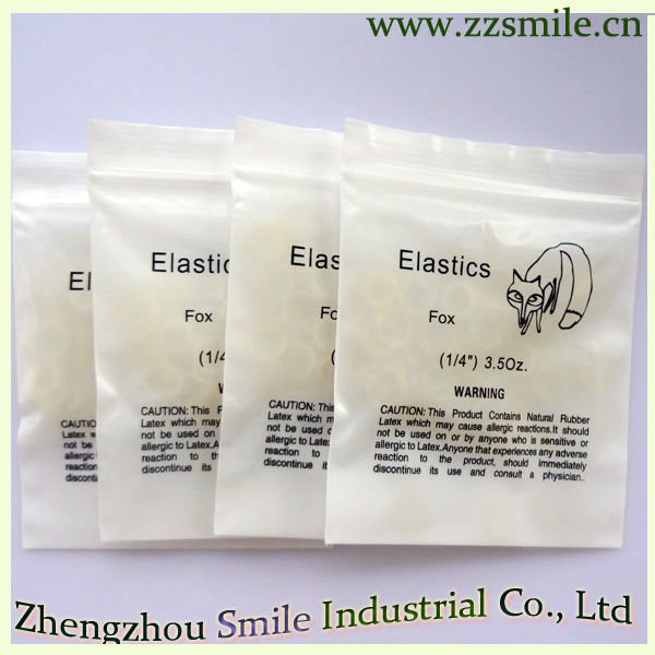 CE/FDA/ISO Approved Denrum Dental Elastic Band/Orthodontic Elastic