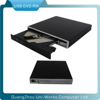 external USB2.0 dvd rw driver dvd writer