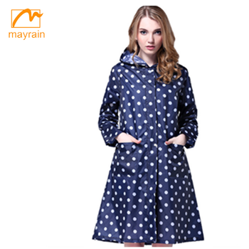 Latest Fashion Designs Long Wind Trench Coat For Women