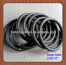 Hot sale high quality motorcycle tyre tube 2.25-17 2.25-16