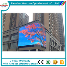 Special Design Arc Outdoor Giant Full Color Billboard Led Display Screen