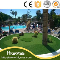 plastic grass mat in roll/artificial turf grass/synthetic grass for soccer fields