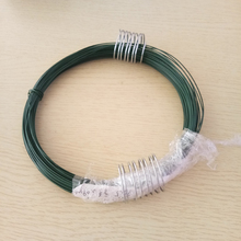 Home depot 2.0mm 0.3kg PVC coated rebar tie wire with spring