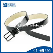 Black blank chastity fashion pu belt for men YJ-AZ003