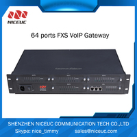 64 ports gateway voip ip pabx MG640 telephone system