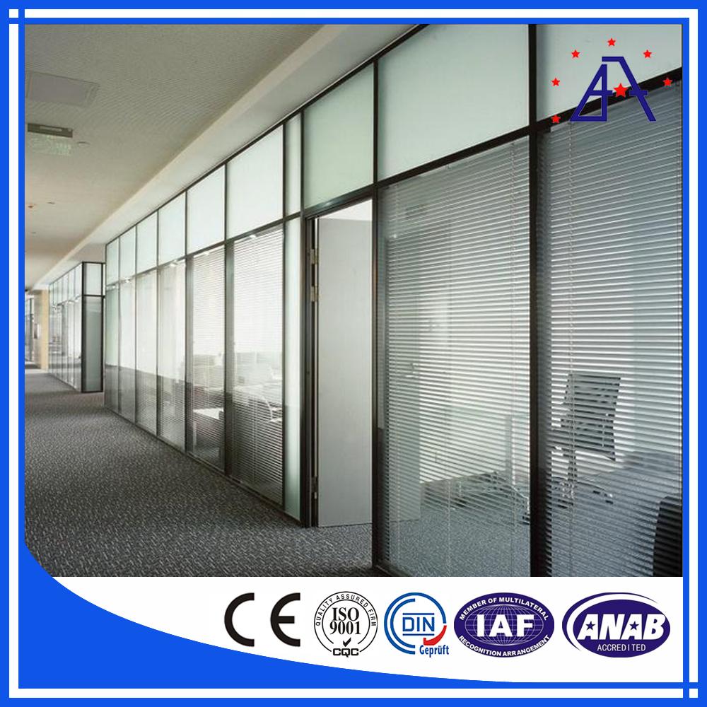 Aluminum Frame Wall : Brilliance high quality aluminium frame wall glass