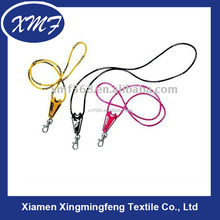 fashion spun elastic lanyards