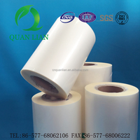 SGS certificated glossy bopp film laminating